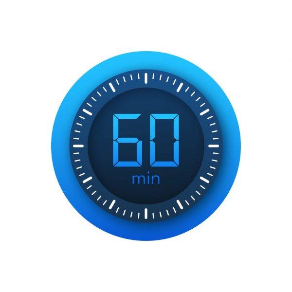 60 minutos de entrenamiento