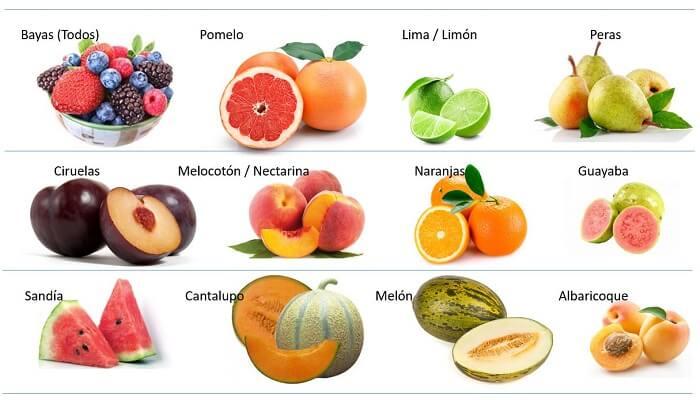 Frutas de bajo Indice glucemico 1