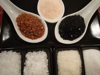 Sal del Himalaya, sal celta, flor de sal, sal de Hawái