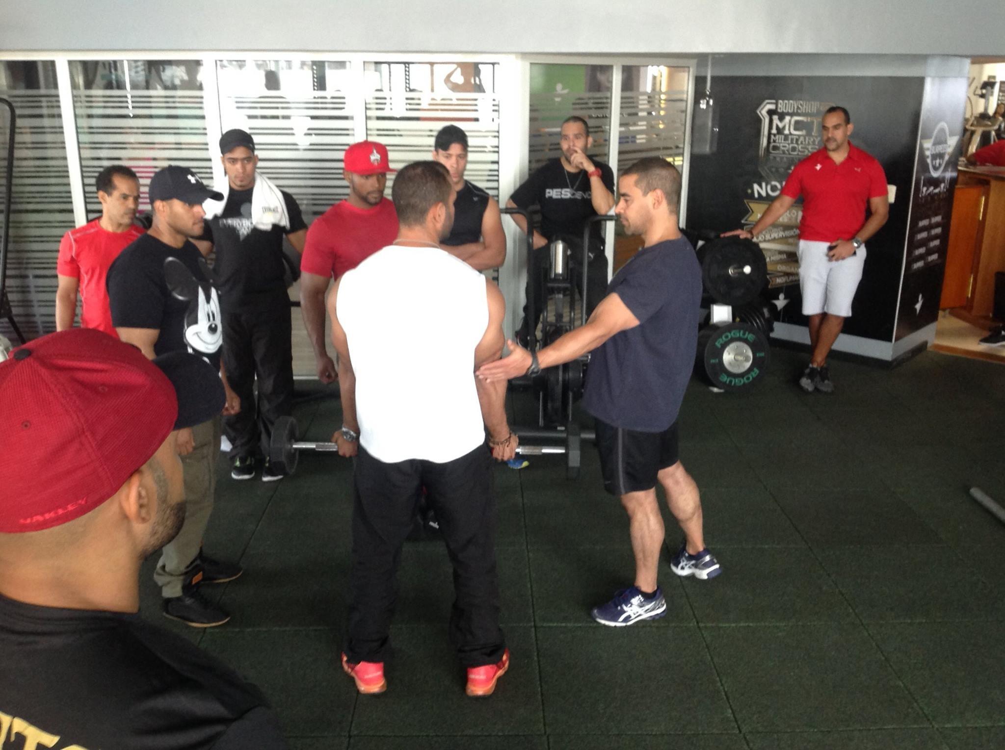 entrenador-personal-gimnasio el -polo