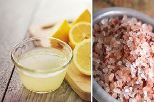 Jugo de limón y sal mejora la acidez estomacal